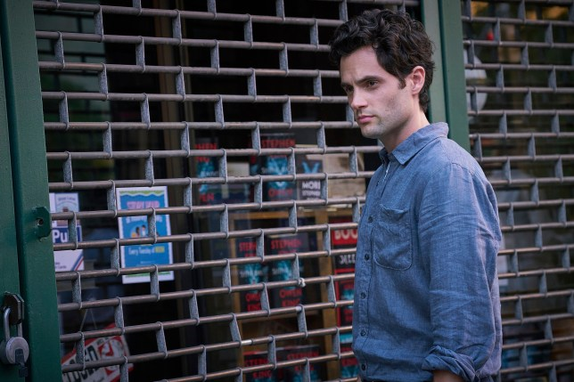 "This image released by Lifetime shows Penn Badgley in a scene from ""You."" The program was named one of the top ten TV shows of 2018 by the Associated Press. (Lifetime via AP)"