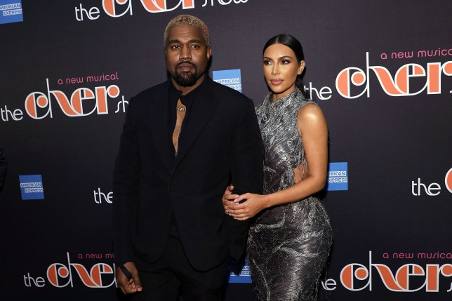 "NEW YORK, NY - DECEMBER 03: Kanye West and Kim Kardashian West attend opening night of ""The Cher Show"" at Neil Simon Theatre on December 3, 2018 in New York City. (Photo by Taylor Hill/FilmMagic)"