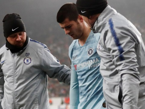 Chelsea must wait to discover extent of injury to Alvaro Morata