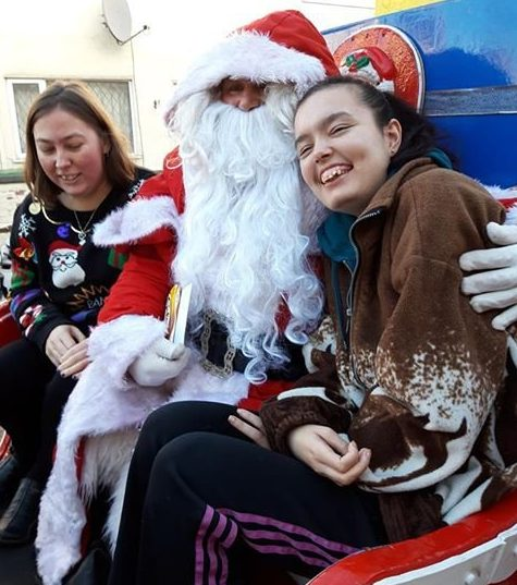 Santa and his elves punched and kicked by woman for 'being too noisy'