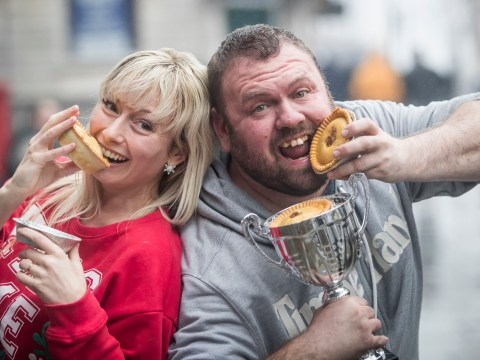 Red meat and potato banned from World Pie Eating Championships over farting fears