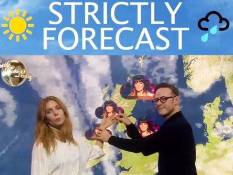 Stacey Dooley predicts 'storm' for Strictly Come Dancing final in pun-filled video