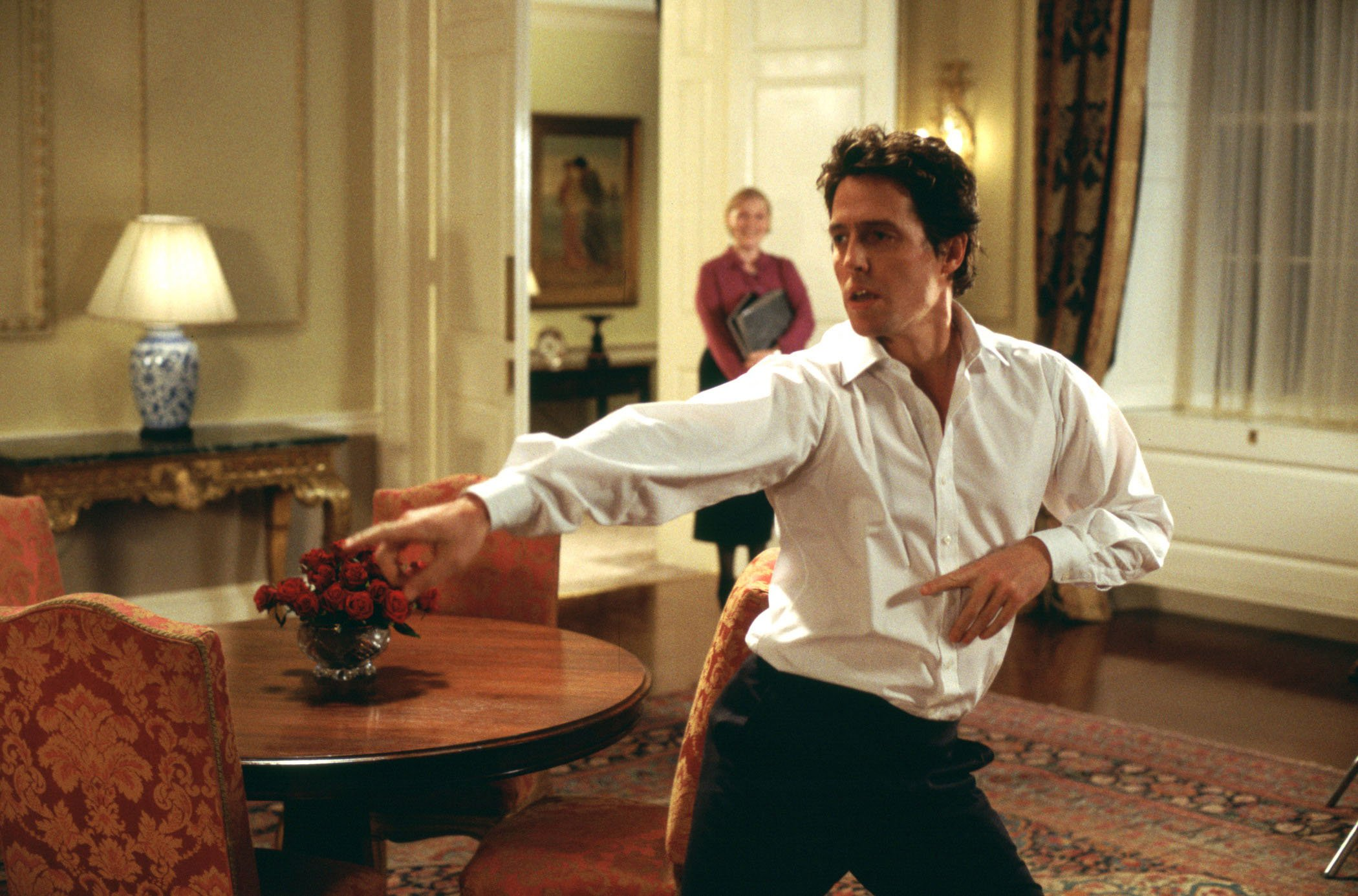 Hugh Grant 'doesn't know' why Love Actually is still popular