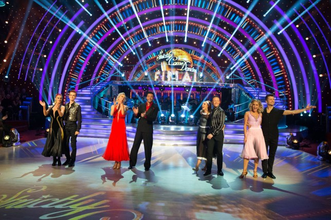 A still from the 2018 Strictly Come Dancing final