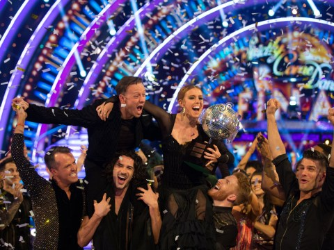 Strictly's Stacey Dooley has best response to knicker flash after she's crowned champion with Kevin Clifton
