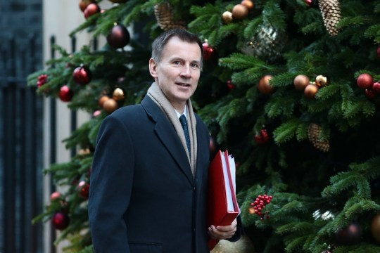 Hunt Brexit no-deal LONDON, ENGLAND - DECEMBER 04: Foreign Secretary Jeremy Hunt arrives at 10 Downing Street as Ministers attend a weekly cabinet meeting ahead of a meaningful vote debate on the Brexit deal, on December 04, 2018 in London, England (Photo by Jack Taylor/Getty Images)