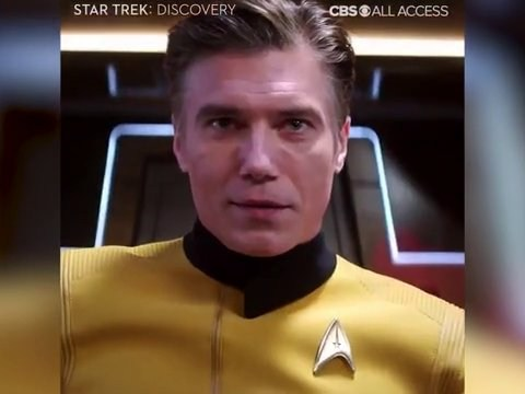 Star Trek: Discovery season two delves into Pike's history as captain of Enterprise