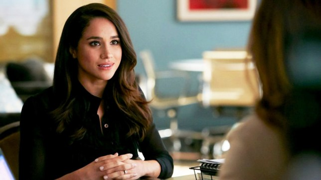 "Editorial use only. No book cover usage. Mandatory Credit: Photo by Usa Network/Netflix/Kobal/REX/Shutterstock (9252511c) Meghan Markle ""Suits"" (Season 7) TV Series - 2017"
