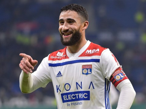 Nabil Fekir sends message to Chelsea and Liverpool with stunning goal in Lyon's win against Guingamp