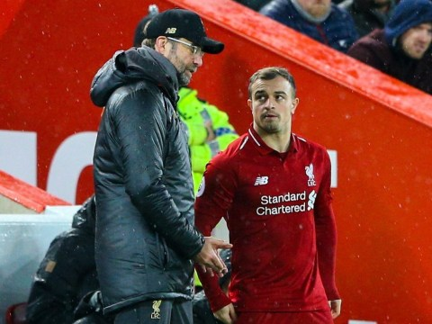Xherdan Shaqiri reveals what Jurgen Klopp told him before double against Manchester United