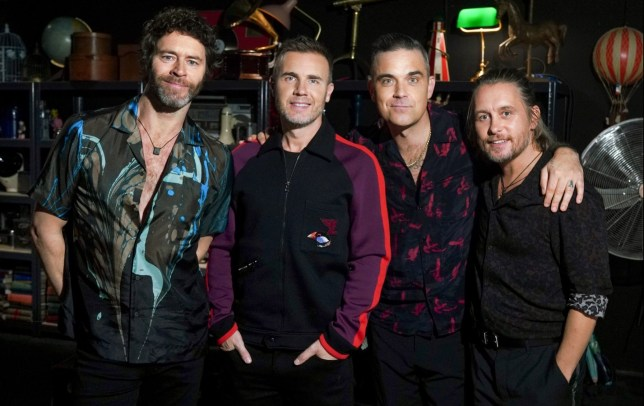 WARNING: Embargoed for publication until 00:00:01 on 11/12/2018 - Programme Name: Take That: We've Come A Long Way - TX: 28/12/2018 - Episode: Take That: We've Come A Long Way (No. n/a) - Picture Shows: **EMBARGOED FOR PUBLICATION UNTIL 00:01 HRS ON TUESDAY 11TH DECEMBER 2018** Take That - (C) Indigo TV - Photographer: Kieron McCarron