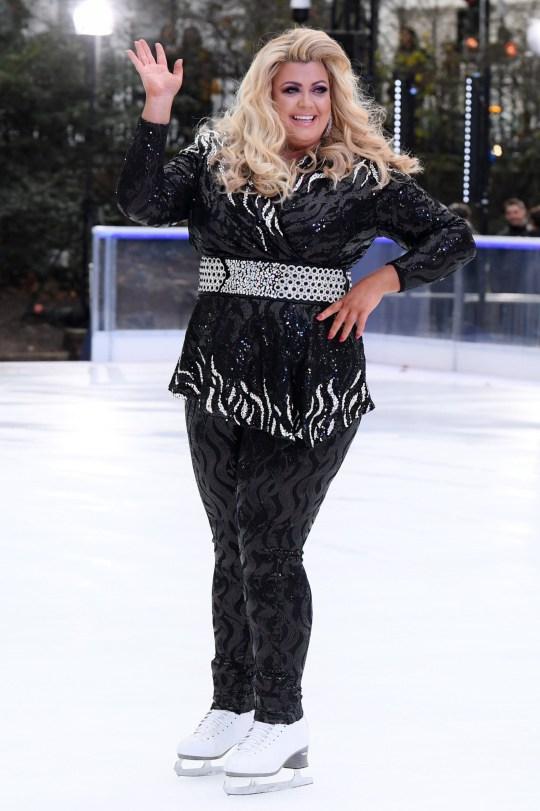 Mandatory Credit: Photo by David Fisher/REX (10037097bz) Gemma Collins 'Dancing On Ice' TV show photocall, London, UK - 18 Dec 2018