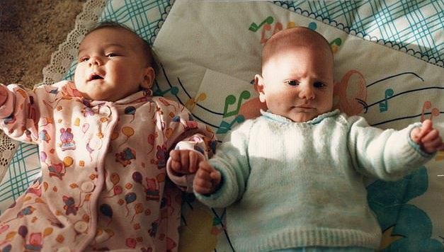 Picture: Jemma Langley CHILDHOOD FRIENDS WHO MET THE DAY AFTER BEING BORN MARRY EACH OTHER 30 YEARS LATER