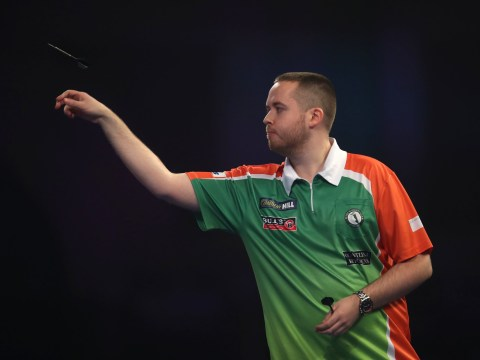 Premier League Darts contender Steve Lennon gives Peter Wright a fright but narrowly loses in Dublin