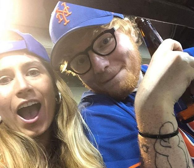 Fans lose it over Ed Sheeran's sweet snap with Cherry Credit: Ed Sheeran