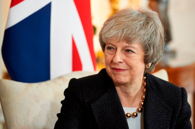 Britain's Prime Minister Theresa May talks with Poland's Prime Minister Mateusz Morawiecki inside 10 Downing Street in central London on December 20, 2018, during their bilateral meeting ahead of the UK-Poland Inter-Governmental Consultations. (Photo by Niklas HALLE'N / POOL / AFP)NIKLAS HALLE'N/AFP/Getty Images