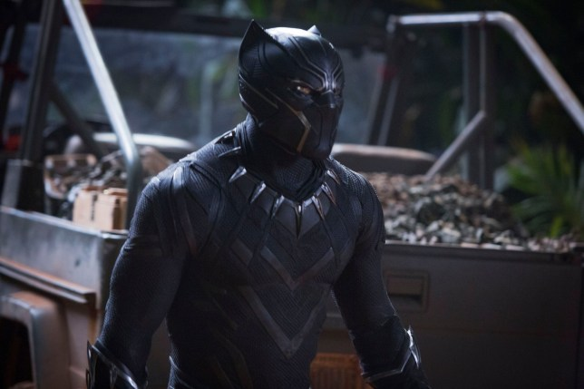 """Editorial use only. No book cover usage. Mandatory Credit: Photo by Marvel/Disney/Kobal/REX/Shutterstock (9360960bn) Chadwick Boseman """"Black Panther"""" Film - 2018"""