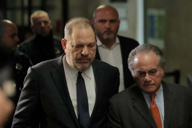 Film producer Harvey Weinstein arrives with his attorney Benjamin Brafman (R) at New York Supreme Court in the Manhattan borough of New York City, U.S., December 20, 2018. REUTERS/Brendan McDermid