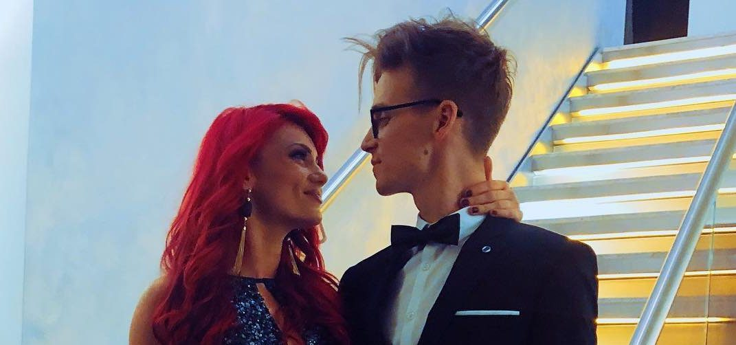 Joe Sugg and Dianne Buswell 'finally' win Strictly's Glitterball trophy as they share sweet snap