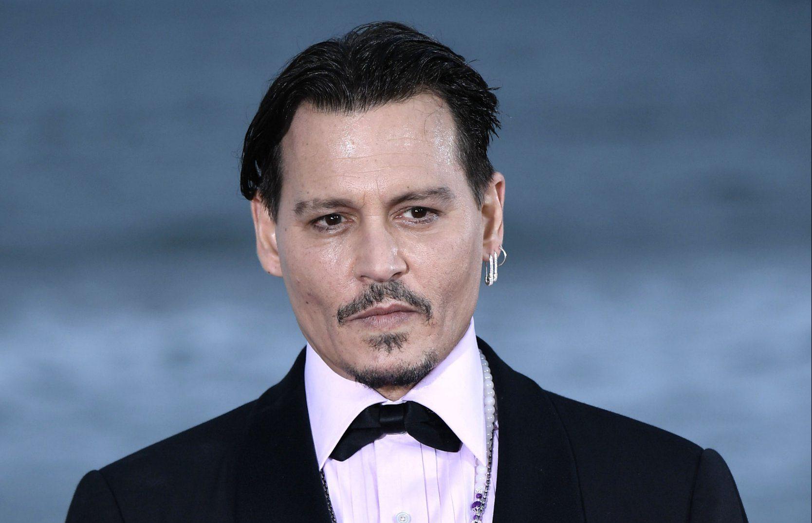 Johnny Depp at the Hainan International Film Festival