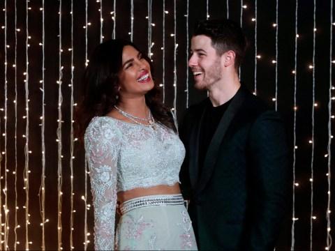 Priyanka Chopra and Nick Jonas can't stop giggling in newest wedding photos