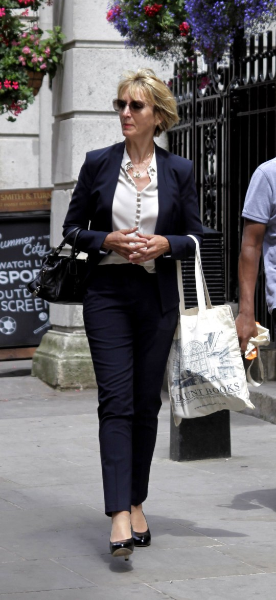 Richard Gittins/Champion News: 079488286566 champion.news.service@gmail.com Picture shows former factory girl Janie Martin, 56, outside London's Appeal Court. She is locked in a ?220m divorce battle with her former boss Rupert Martin. Online use to be paid for seperately from use in print. Any first time use in print to count as live for payment purposes.