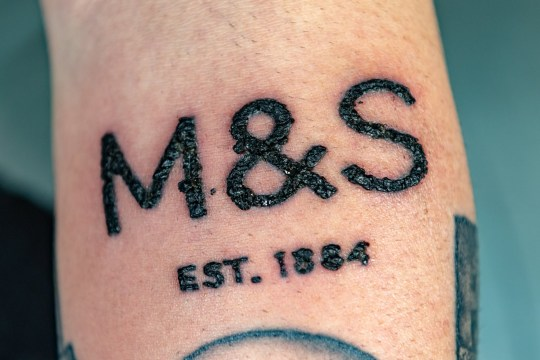 Man Who Loves Marks Spencer Gets An M S Tattoo Metro News