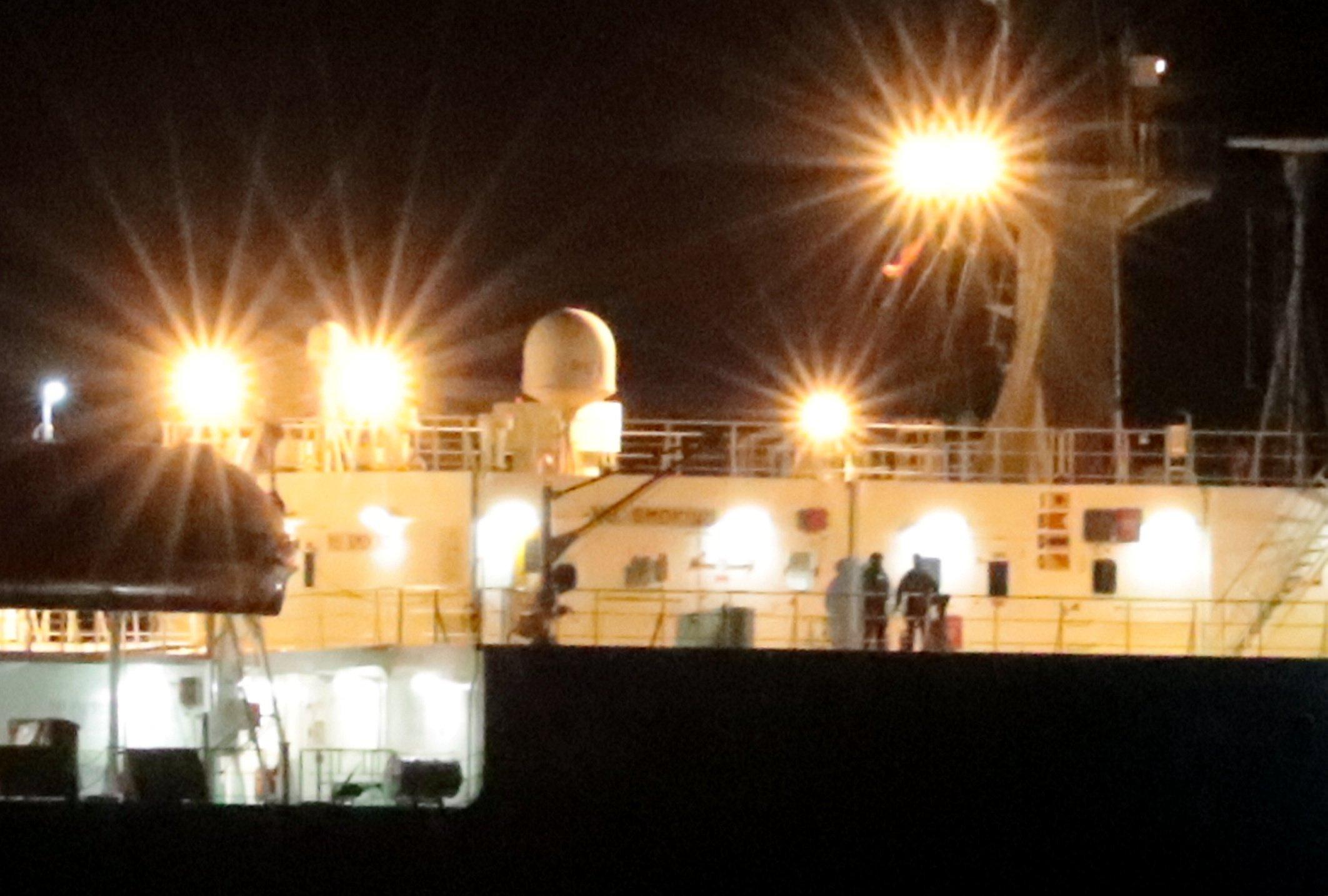 Grande Tema SBS in control off Essex coast this morning. Pix (c) copyright 22.12.18 Scott Huntley 07973 208461 16 CM3 4RP