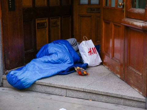 Christmas is 'just another day' say homeless people at festive shelter