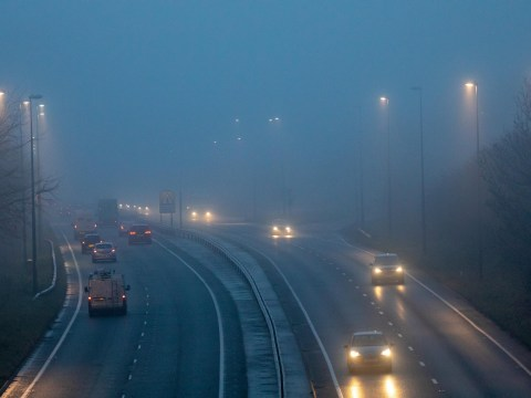 We're heading for a very foggy and very mild Christmas