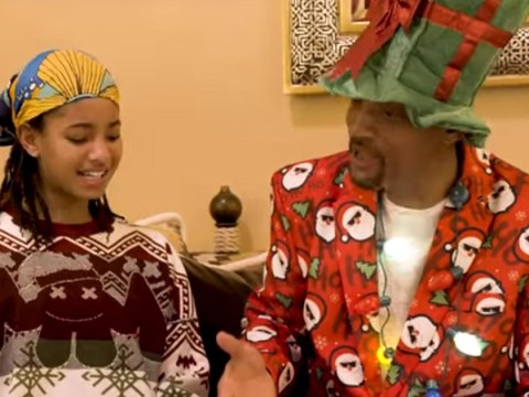 Willow Smith schools dad Will on the problematic lyrics of Baby It's Cold Outside