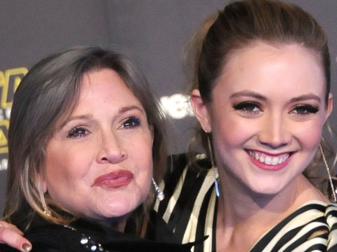 Billie Lourd honours her late mother Carrie Fisher in an emotional musical tribute on her two-year death anniversary