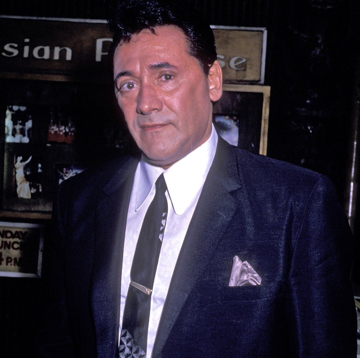 "NEW YORK CITY - MAY 31: Frank Adonis sighted on location filming ""Wise Guys"" on May 31, 1989 in New York City. (Photo by Ron Galella, Ltd./WireImage)"