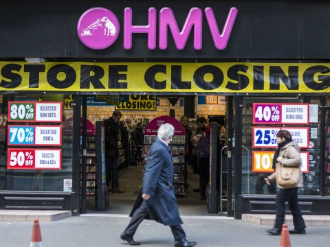 Which HMV stores are closing as Sunrise Records saves it from administration?