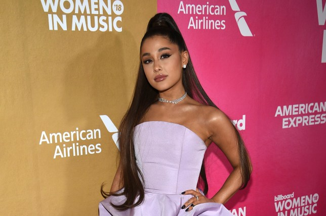 """FILE - In a Thursday, Dec. 6, 2018 file photo, Ariana Grande attends the 13th annual Billboard Women in Music event at Pier 36, in New York. Ariana Grande has cancelled a Las Vegas performance scheduled for Saturday, Dec. 29, 2018 """"due to unforeseeable health reasons.???(Photo by Evan Agostini/Invision/AP, File)"""