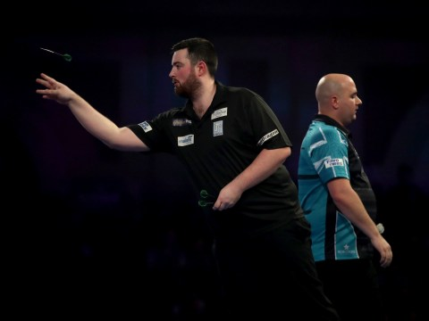 Luke Humphries shocks defending champion Rob Cross to reach PDC World Championship quarter-final