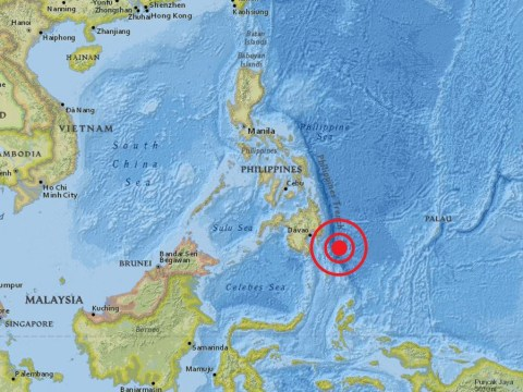 Tsunami alert after earthquake strikes off coast of Philippines