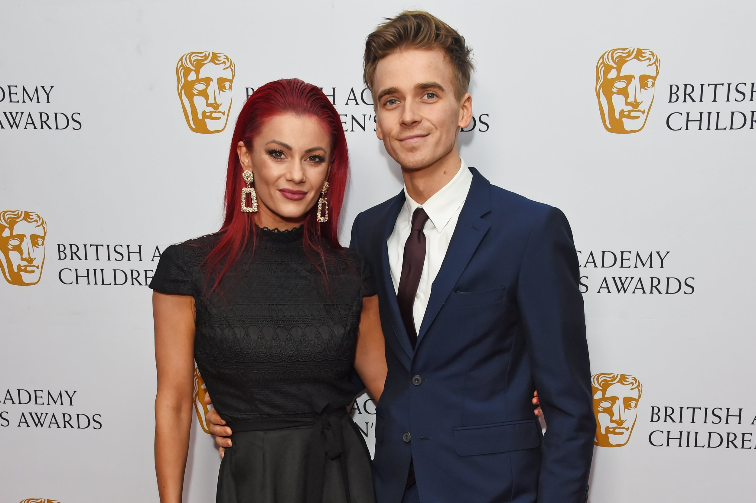 LONDON, ENGLAND - NOVEMBER 25: Dianne Buswell and Joe Sugg attend The British Academy Children's Awards 2018 at The Roundhouse on November 25, 2018 in London, England. (Photo by David M. Benett/Dave Benett/Getty Images)