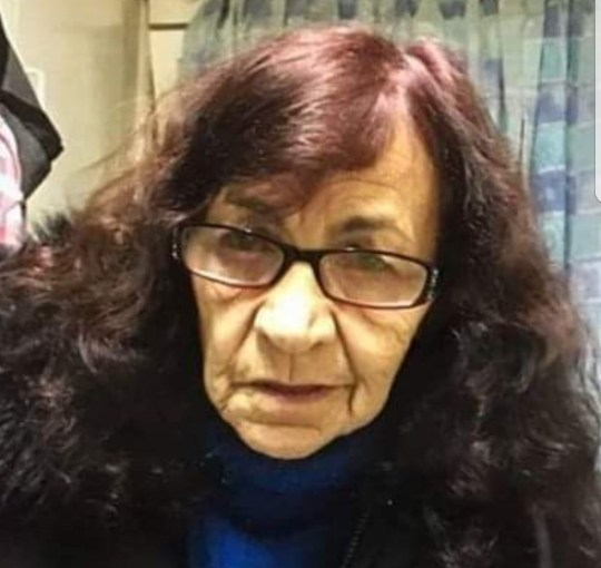 Urgent appeal for 77-year-old woman missing from North Manchester General Hospital who needs medical treatment METRO GRAB taken from: http://www.gmp.police.uk/live/nhoodv3.nsf/WebsitePages/4170B05332D74CD1802583730033E666?OpenDocument Picture: Olga Finney Credit: Greater Manchester Police