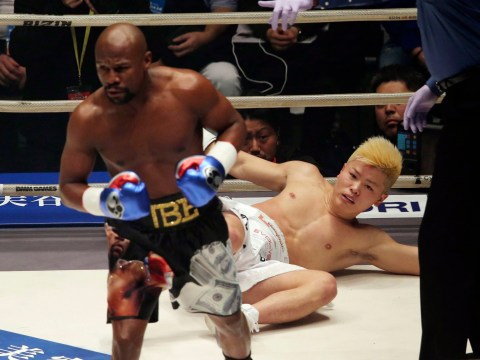 Floyd Mayweather destroys Tenshin Nasukawa with swift KO in first round