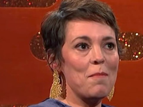 Olivia Colman played a prank on Emma Stone with a wet sponge during The Favourite sex scene