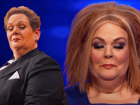 I'm A Celebrity's Anne Hegerty transforms into Ginger Spice for The Chase, gets ripped on by Bradley Walsh