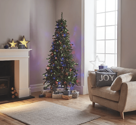 purchase cheap 86abe 9b15a The best pre lit Christmas trees from Argos, Asda, John ...
