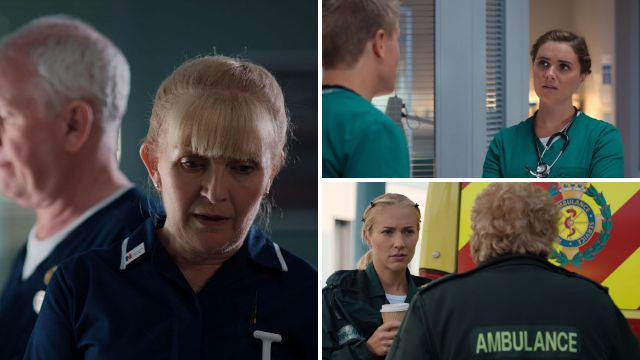 Casualty review with spoilers: Duffy's secret is out
