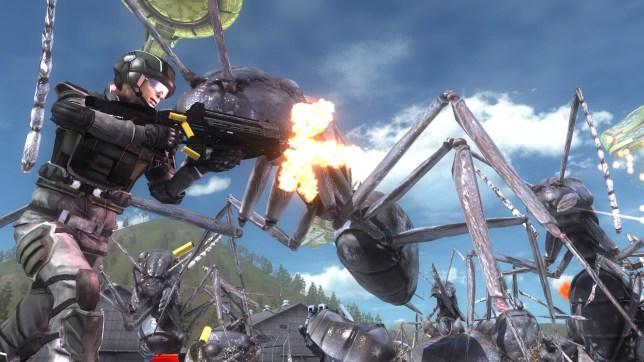 Earth Defense Force 5 (PS4) - EDF! EDF! EDF!