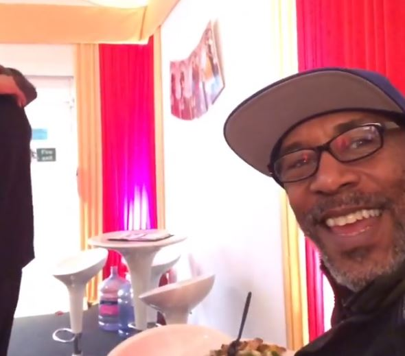 Danny John-Jules hits back at reports he's sparking more feuds on Strictly Come Dancing with backstage video