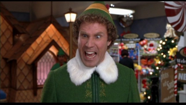 Will Ferrell in a scene from Elf