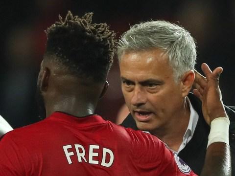 Jose Mourinho told Fred his 'dream' midfield trio for Manchester United