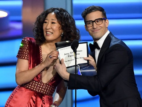 Golden Globe Awards 2019 will be co-hosted by Sandra Oh and Andy Samberg