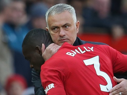 Jose Mourinho tells Eric Bailly to wait for his chance at Manchester United